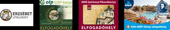Fizetési lehetőségek: Visa, Eurocard Mastercard, Erzsébet utalvány, OTP SZÉP-kártya, MKB SZÉP-kártya, K&H SZÉP-kártya